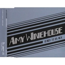 Amy Winehouse ‎– Back To Black - CD Maxi Single Promo
