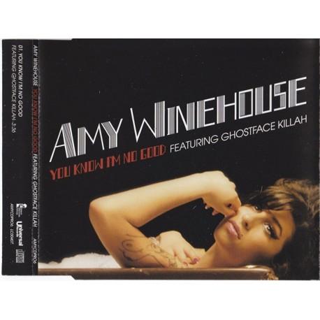 Amy Winehouse Featuring Ghostface Killah – You Know I'm No Good - CD Maxi Single Promo