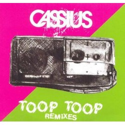 Cassius ‎– Toop Toop (Remixes) - CD Single Promo