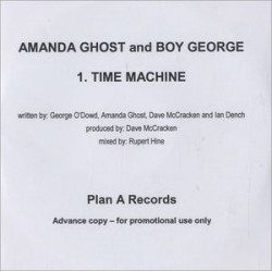 Amanda Ghost & Boy George ‎– Time Machine - CDr Single Promo