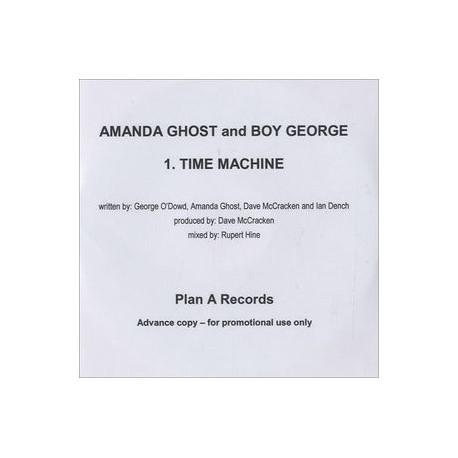 Amanda Ghost & Boy George – Time Machine - CDr Single Promo