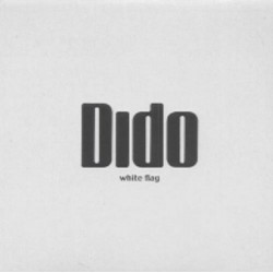 Dido - White Flag - CD Single Promo Mexico - Numbered