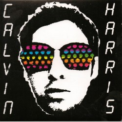 Calvin Harris ‎– Colours - CD Single Promo