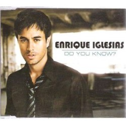 Enrique Iglesias ‎– Do You Know? - CD Maxi Single Promo