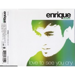 Enrique Iglesias ‎– Love To See You Cry - CD Maxi Single