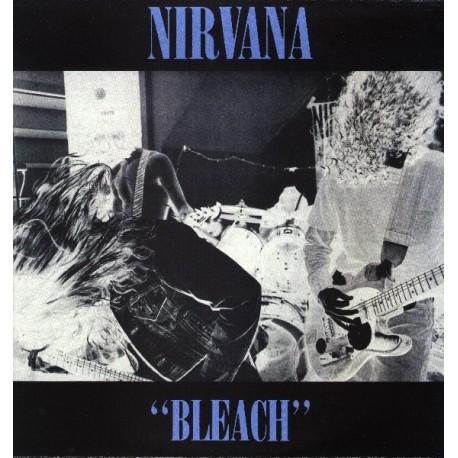 Nirvana – Bleach - LP Vinyl - Coloured Blue