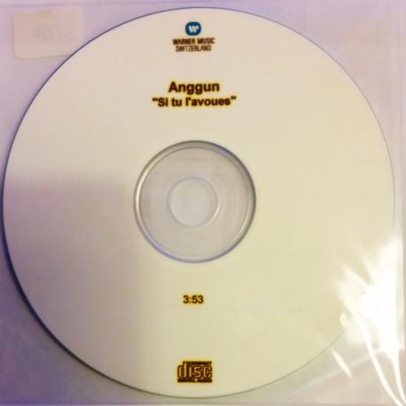 Anggun - Si Tu L'Avoues - CDr Promo Switzerland