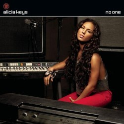 Alicia Keys ‎– No One - CD Maxi Single Promo