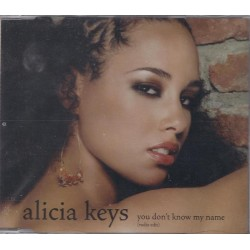 Alicia Keys ‎– You Don't Know My Name - CD Maxi Single Promo
