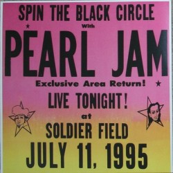 Pearl Jam ‎– Spin The Black Circle - Live Tonight! - Double LP Vinyl - Gatefold - Coloured