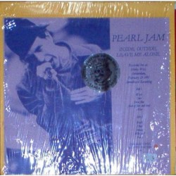 Pearl Jam ‎– Inside, Outside, Leave Me Alone - LP Vinyl - Coloured - Limited Edition