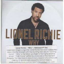 Lionel Richie ‎– Why - CDr Single Promo