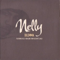 Nelly Featuring Kelly Rowland From Destiny's Child – Dilemma - CD Single Promo