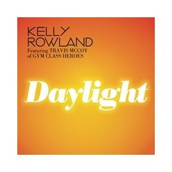 Kelly Rowland Featuring Travis McCoy of Gym Class Heroes ‎– Daylight - CD Maxi Single Promo