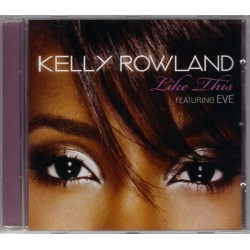 Kelly Rowland Featuring Eve  ‎– Like This - CD Maxi Single Promo