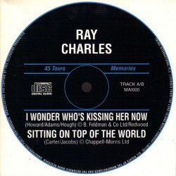 Ray Charles - I Wonder Who's Kissing Her Now - CD Single