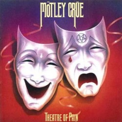 Mötley Crüe ‎– Theatre Of Pain - LP Vinyl - Edition 180 Gr.