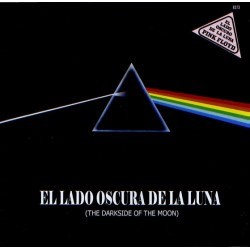Pink Floyd ‎– El Lado Oscuro De La Luna - LP Vinyl - Coloured Red Edition