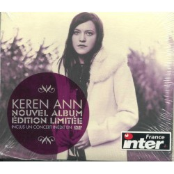 Keren Ann - La Disparition - CD Album + DVD  Digipack Edition Limitée