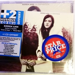 Keren Ann - La Disparition - CD Album + CD 2 Inédits - Edition Limitée