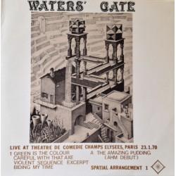 Pink Floyd– Water's Gate - Live At Théâtre Comédie Champs Elysées - LP Vinyl
