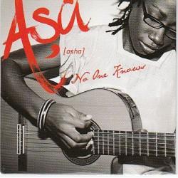 Asa - No One Knows - CD Single 1 Track
