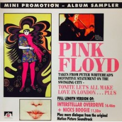 Pink Floyd ‎– Tonite Let's All Make Love In London - LP Vinyl - Coloured Yellow