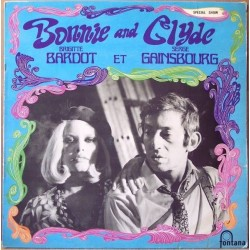 Serge Gainsbourg & Brigitte Bardot - Bonnie and Clyde - LP Vinyl + MP3 Code