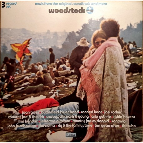 Woodstock 1 & 2 - Music From The Original Soundtrack And More - 5 LP Vinyls