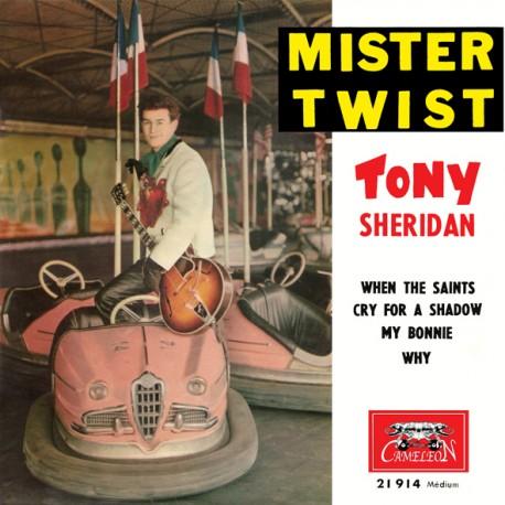 Tony Sheridan - Mister Twist - When The Saints - Cry For A Shadow - 45 RMP Vinyl EP