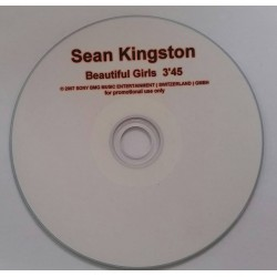 Sean Kingston ‎– Beautiful Girls - CDr Single Promo