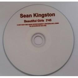 Sean Kingston – Beautiful Girls - CDr Single Promo