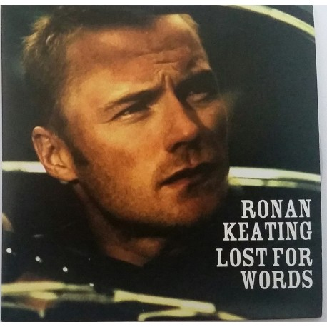 Ronan Keating – Lost For Words - CD Single Promo