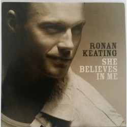 Ronan Keating ‎– She Believes In Me - CD Single Promo