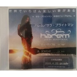 Sarah Brightman ‎– Harem - CDr Single Promo