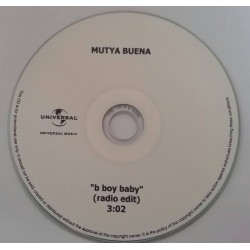 Mutya Buena ‎– B Boy Baby - CDr Single Promo