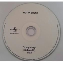 Mutya Buena – B Boy Baby - CDr Single Promo