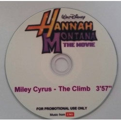 Miley Cyrus ‎– The Climb - CDr Single Promo - Hannah Montana
