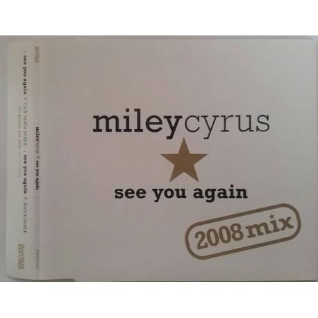 Miley Cyrus – See You Again (2008 Mix) - CD Maxi Single Promo