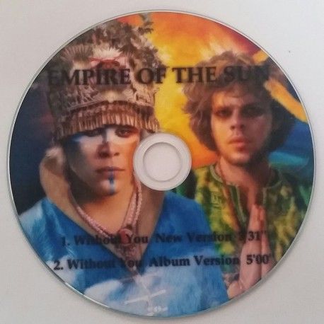 Empire Of The Sun – Without You - CDr Single Promo