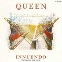 Queen ‎– Innuendo (Explosive Version) - Maxi Vinyl - Duet with David Bowie