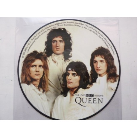 Queen ‎– The Lost BBC Sessions - 4 LP Vinyl - Picture Disc - Limited Edition