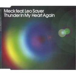 Meck Feat. Leo Sayer ‎– Thunder In My Heart Again - CD Maxi Single