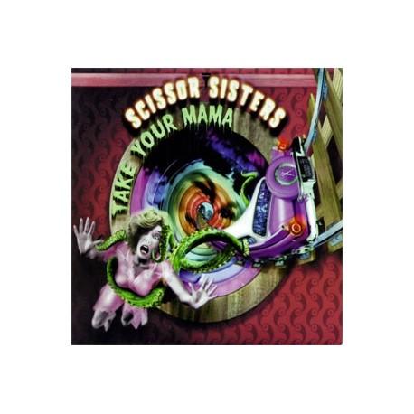 Scissor Sisters – Take Your Mama - CD Single Promo