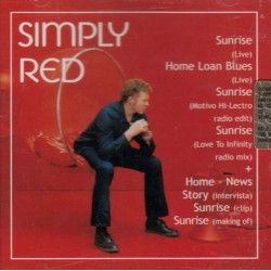 Simply Red ‎– Simply Red - CD Promo - Tribe Italy