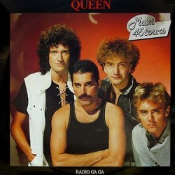 Queen ‎– Radio Ga Ga - Maxi Vinyl - 12 inches