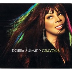 Donna Summer ‎– Crayons - CD Album - Digipack Edition Canada