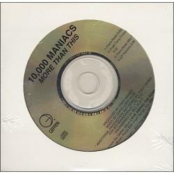 10,000 Maniacs – (Roxy Music) - More Than This - CD Single Promo