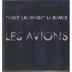 Les Avions - Nuit Sauvage - Le Remix - CD Single 4 Tracks