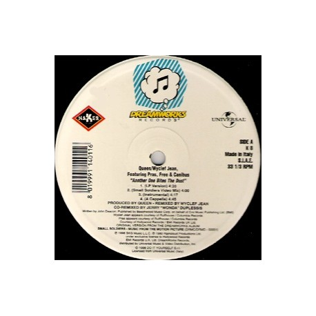 Queen - Wyclef Jean Featuring Canibus – Another One Bites The Dust ('98 Remixes) - Maxi Vinyl Italy